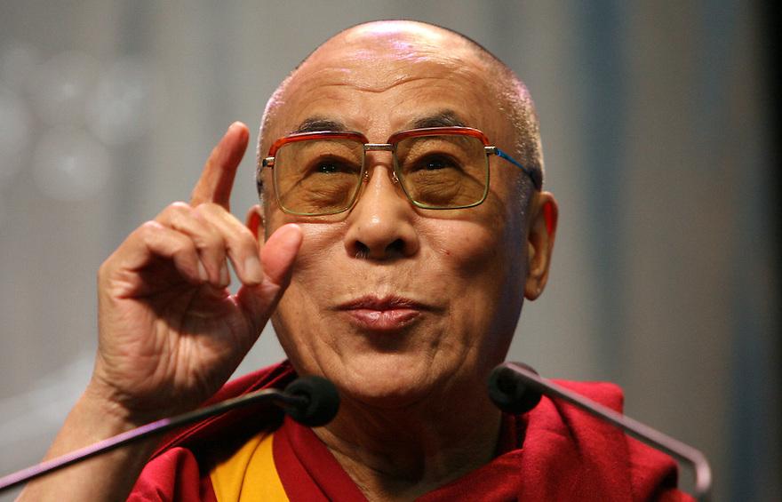Exiled Tibetian spiritual leader The Dalai Lama