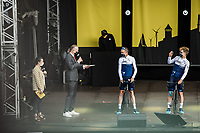Chris Froome (GBR/Israël Start-Up Nation) at the pre Tour teams presentation of the 108th Tour de France 2021 in Brest at le Grand Départ.
