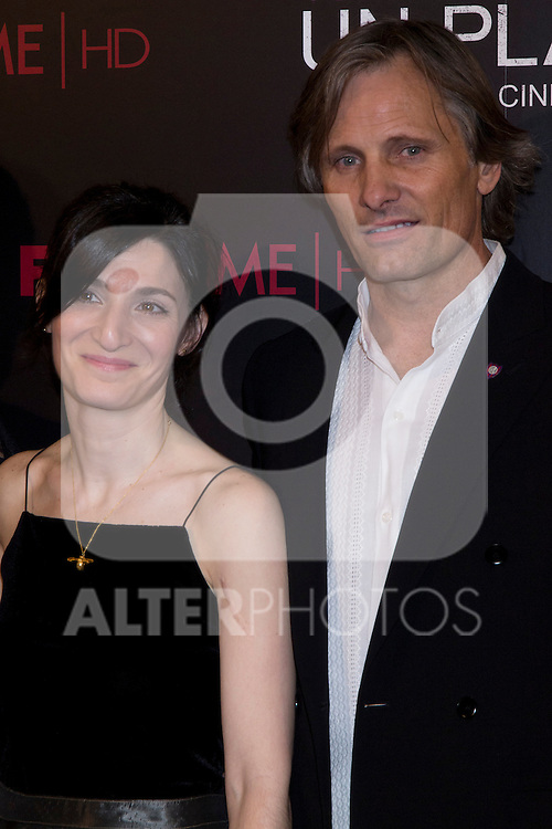 05.09.2012. Premier at the Capitol Cinema in Madrid of the movie ´Todos tenemos un Plan´.. Directed by Ana Piterbag and starring by Viggo Mortensen, Soledad Villamil and Javier Godino. In the image Ana Piterbag and Viggo Mortensen (Alterphotos/Marta Gonzalez)