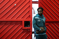Nathan Dyer of Swansea City arrives at Old Trafford prior to the Premier League match between Manchester United and Swansea City at the Old Trafford, Manchester, England, UK. Saturday 31 March 2018
