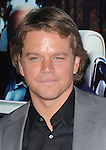 Matt Damon attends The HBO Premiere of HIS WAY Documentary held at Paramount Theater in Los Angeles, California on March 22,2011                                                                               © 2010 DVS / Hollywood Press Agency