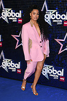 Mabel<br /> arriving for the Global Awards 2019 at the Hammersmith Apollo, London<br /> <br /> ©Ash Knotek  D3486  07/03/2019