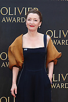 File photo of actress Lesley Manville who has been awarded a CBE for services to drama and charity.<br /> The Olivier Awards 2018 at the Royal Albert Hall, Kensington Gore, London on Sunday 08 April 2018<br /> <br /> Photo by Keith Mayhew
