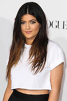 """LOS ANGELES, CA - DECEMBER 18: Kylie Jenner arrives at the World Premiere Of Open Road Films' """"Justin Bieber's Believe"""" held at Regal Cinemas L.A. Live on December 18, 2013 in Los Angeles, California. (Photo by Xavier Collin/Celebrity Monitor)"""