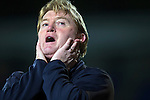 St Johnstone v Motherwell....25.02.14    SPFL<br /> Stuart McCall shows his frustaration<br /> Picture by Graeme Hart.<br /> Copyright Perthshire Picture Agency<br /> Tel: 01738 623350  Mobile: 07990 594431