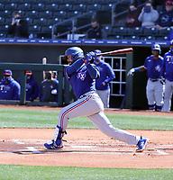Isiah Kiner-Falefa - Texas Rangers 2021 spring training (Bill Mitchell)