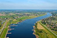 Deichbau im Tiedebereich der Elbe: EUROPA, DEUTSCHLAND, HAMBURG, NIEDERSACHSEN 07.09.2004: Deichbau im Tiedebereich der Elbe