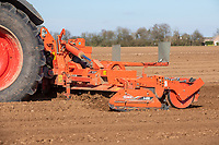 Cultivating for potatoes - Lincolnshire, March