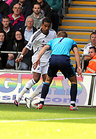 Pictured: Scott Sinclair of Swansea City in action. Saturday 17 September 2011<br /> Re: Premiership football Swansea City FC v West Bromwich Albion at the Liberty Stadium, south Wales.