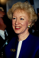 Montreal (QC) Canada- File Photo- March1993 - Kim Campbell