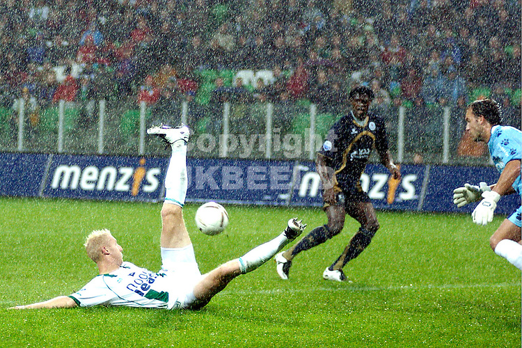groningen - sparta  eredivisie seizoen 2007-2008 29-09- 2007 meerdink mist kans *** Local Caption ***