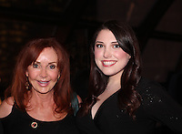 "General Hospital Jacklyn Zeman ""Bobbie Spencer"" poses with Samantha Sharpe who sang ""Let It Go"". Jackie is honorary chair of The 29th Annual Jane Elissa Extravaganza which benefits The Jane Elissa Charitable Fund for Leukemia & Lymphoma Cancer, Broadway Cares and other charities on November 14, 2016 at the New York Marriott Hotel, New York City presented by Bridgehampton National Bank and Walgreens.  (Photo by Sue Coflin/Max Photos)"