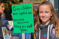 Supporting Youth Climate Lawsuit Chicago Illinois 10-29-18