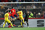 Spain's Mikel Merino  scores goal  during the International Friendly match on 21th March, 2019 in Granada, Spain. (ALTERPHOTOS/Alconada)