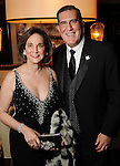 Maggie Powell and Ray Brouillard at the San Luis Salute to Mardi Gras in Galveston Friday Feb. 13,2015.(Dave Rossman Photo)