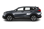 Car Driver side profile view of a 2020 Honda CR-V-Hybrid Executive-4wd 5 Door SUV Side View