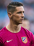 Fernando Torres of Club Atletico de Madrid in training prior to the La Liga match between Club Atletico de Madrid and Malaga CF at the Estadio Vicente Calderón on 29 October 2016 in Madrid, Spain. Photo by Diego Gonzalez Souto / Power Sport Images