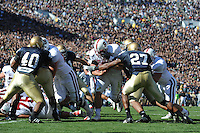South Bend, IN - OCTOBER 4:  Running back Toby Gerhart #7 of the Stanford Cardinal during Stanford's 28-21 loss against the Notre Dame Fighting Irish on October 4, 2008 at Notre Dame Stadium in South Bend, Indiana.