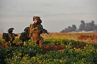Gaza under attack by Ahikam Seri