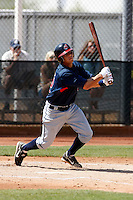 Walter Diaz -  Cleveland Indians - 2009 spring training.Photo by:  Bill Mitchell/Four Seam Images