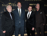 """October 12, 2021.Brian Cox, Jesse Armstrong, Kieran Culkin, Alan Ruck attend HBO's """"Succession"""" Season 3 Premiere at the  American Museum of Natural History in New York October 12, 2021 Credit: RW/MediaPunch"""