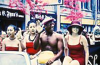 Gay Parade in Toronto, Canada.