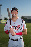 Lake Elsinore Storm infielder Hudson Potts (15) poses for a photo before a California League game against the Modesto Nuts at John Thurman Field on May 11, 2018 in Modesto, California. (Zachary Lucy/Four Seam Images)