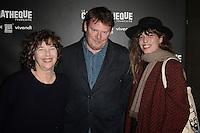 Jane BIRKIN - Frederic BONNAUD - Lou DOILLON - Ouverture de la retrospective Jane Birkin - La Cinematheque francaise 25 janvier 2017 - Paris - France