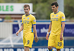 Inverness Caley Thistle v St Johnstone…27.08.16..  Tulloch Stadium  SPFL<br />Steven MacLean and Graham Cummins<br />Picture by Graeme Hart.<br />Copyright Perthshire Picture Agency<br />Tel: 01738 623350  Mobile: 07990 594431