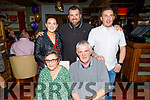 Bridget Duggan from Tralee celebrating her 70th birthday in Gallys on Saturday. Seated: Bridget and Edward Duggan.<br /> Standing l to r:  Karen Redmond, Richard and Edward Duggan.