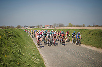 rolling through the Holle Weg<br /> <br /> 62nd E3 BinckBank Classic (Harelbeke) 2019 <br /> One day race (1.UWT) from Harelbeke to Harelbeke (204km)<br /> <br /> ©kramon