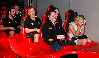 Photo: Richard Lane/Richard Lane Photography. London Wasps in Abu Dhabi for their LV= Cup game against Harlequins on 30st January 2011. 27/01/201The fastest rollercoaster in the world at Ferrari World Abu Dhabi.