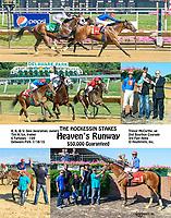 Heaven's Runway winning The Hockessin Stakes at Delaware Park on 7/18/15