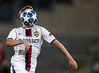 Football Soccer: UEFA Champions League  AS Roma vs PFC CSKA Mosca Stadio Olimpico Rome, Italy, October 23, 2018. <br /> CSKA Mosca's Arnor Sigurdsson in action during the Uefa Champions League football soccer match between AS Roma and PFC CSKA Mosca at Rome's Olympic stadium, October 23, 2018.<br /> UPDATE IMAGES PRESS/Isabella Bonotto