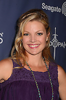 Clare Kramer<br /> The first annual Geekie Awards at The Avalon Hollywood in Hollywood, CA., USA.  <br /> August 18th, 2013<br /> headshot portrait purple sleeveless <br /> CAP/ADM/BT<br /> ©Birdie Thompson/AdMedia/Capital Pictures