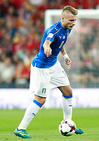 Italy's Ciro Immobile during FIFA World Cup 2018 Qualifying Round match. September 2,2017.(ALTERPHOTOS/Acero)