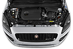 Car Stock 2021 Jaguar E-Pace R-Dynamic-HSE 5 Door SUV Engine  high angle detail view