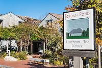 Jordan Pond Restaurant, Acadia National Park, Mt, Desert Island, Maine, USA