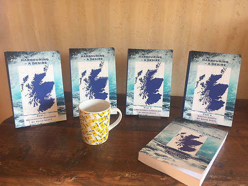 The books document tales and local histories of all of Scotland's  340 harbourages