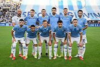 26th September 2021;  Stadio Olimpico, Rome, Italy; Italian Serie A football, SS Lazio versus AS Roma; Lazio team line u