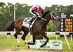 March 6, 2021: #2 LAST JUDGMENT and Jockey Daniel Centeno win easy for Trainer Mike Maker in the $100,000 Michelob Ultra Challenger Stakes at Tampa Bay Downs in Oldsmar, Florida on March 6, 2021. Carson Dennis/Eclipse Sportswire/CSM