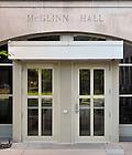 June 13, 2011; McGlinn Hall door..Photo by Matt Cashore/University of Notre Dame