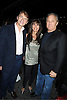 """Marc Benecke, Myra Scheer and Ian Schrager attends the SiriusXM Reopens Studio 54 for """"One Night Only"""" party on October 18, 2011 at Studio 54 in New York City."""