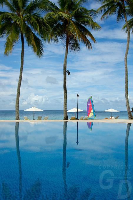 THE SWIMING POOL, RESORT, PALAU, MICRONESIA