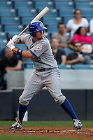 Infielder Josh Vitters of the Daytona Cubs. Single-A Florida State League affiliate of the Chicago Cubs,during a game at George M. Steinbrenner Field in Tampa, FL. Photo by: Mark LoMoglio/Four Seam Images