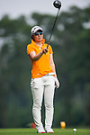 Minami Hiruta of Japan in action on day 3 of the 9th Faldo Series Asia Grand Final 2014 golf tournament on March 20, 2015 at Faldo course in Mid Valley Golf Club in Shenzhen, China. Photo by Xaume Olleros / Power Sport Images
