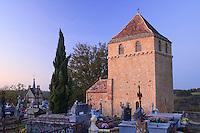 France, Aquitaine, Dordogne (24), Montferrand-du-Périgord, chapelle Saint-Christophe // France, Aquitaine, Dordogne, Montferrand-du-Périgord, chapel Saint-Christophe