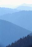 Mountain ridges, North Cascades National Park, Washington