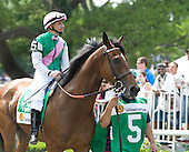 Juddmonte's Proviso, with Mike Smith aboard, defeated Phola and My Princess Jess in the Grade 1 Just A Game Stakes at Belmont.