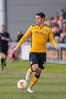 Tommy O'Sullivan of Newport County during the Sky Bet League 2 match between Newport County and Notts County at Rodney Parade, Newport, Wales on 30 April 2016. Photo by Mark  Hawkins / PRiME Media Images.